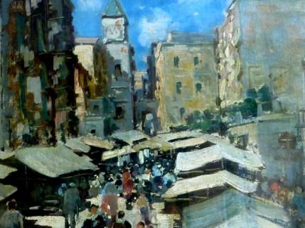 Lazzaro Pasini - Italian Street Scenes